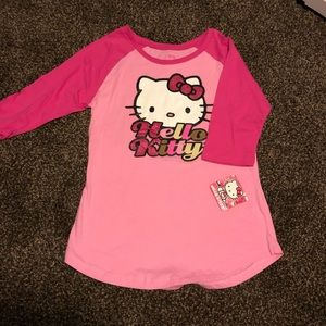 Hello Kitty Girls Night Shirt - Med
